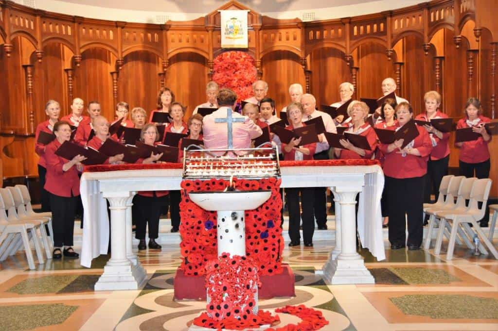 Geraldton Choral Society conducted by Chris Clune