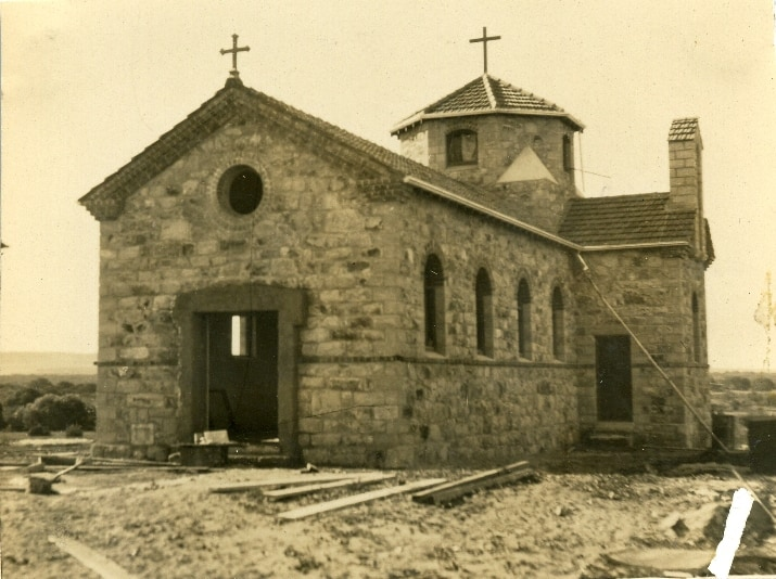 St Lawrences being built